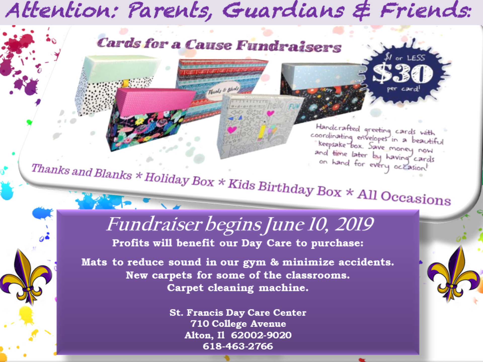 Cards For A Cause Fundraiser Begins June 10 2019