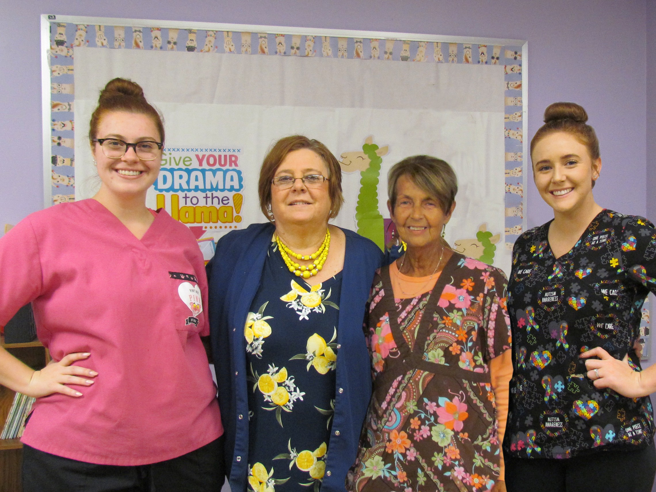 Marjorie and Assistants - Room 10